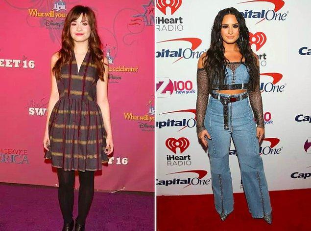 15. Demi Lovato kendisini zamanın kollarına bırakmış, iyi de etmiş.