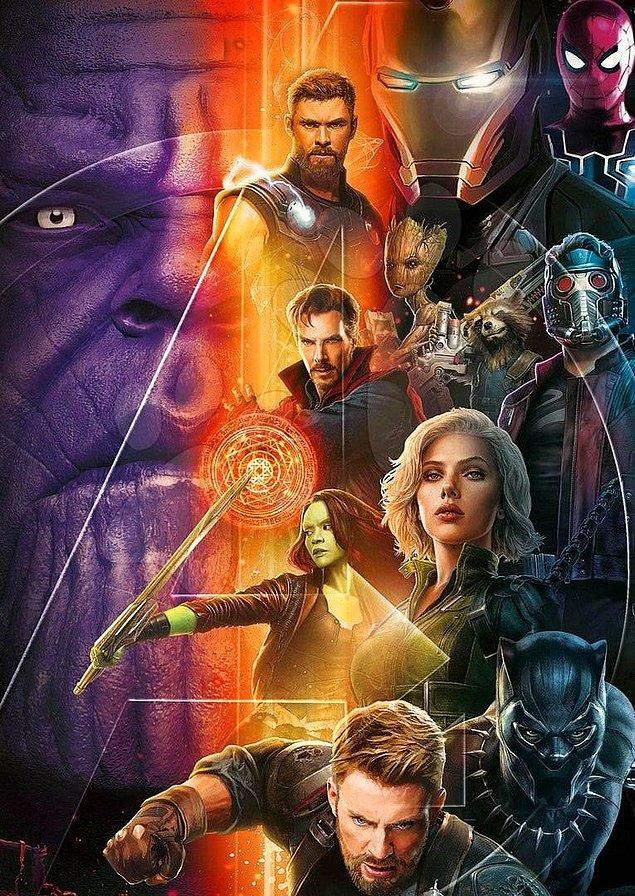5. Avengers: Infinity War için gün saydığımız şu günlerde filmin bir posteri daha yayınlandı!