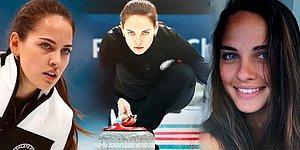Kış Olimpiyatları'nda İzleyenleri Kendine Hayran Bırakan Curling Sporcusu Anastasia Bryzgalova