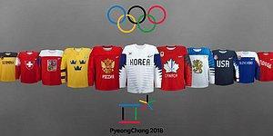 Olimpiyatlar'da Görsel Şölen: PyeongChang'de Mücadele Veren 12 Hokey Takımının Formaları