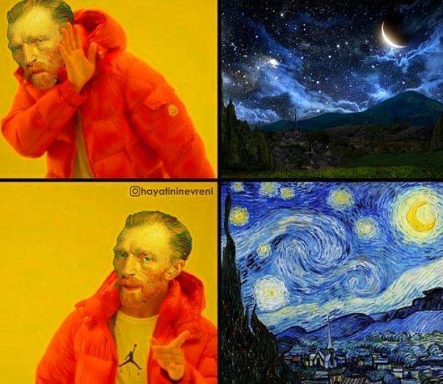 Van Gogh bakış açısı...