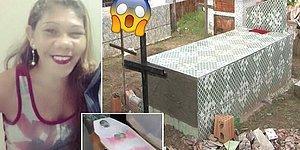 Yanlışlıkla Canlı Gömülüp 11 Gün Boyunca Tabuttan Kaçmaya Çalıştığı İddia Edilen Brezilyalı Kadın!