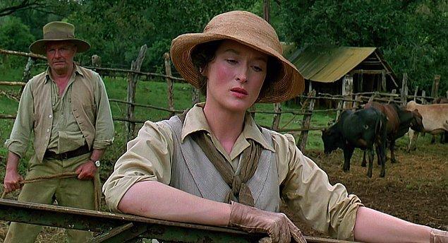 6. 1986 yılında altıncı adaylığını ise muhteşem sinematografisiyle, kurgusuyla, senaryosuyla yedi dalda Oscar ödülü kazanan Benim Afrikam adlı filmle elde etti.