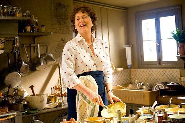 16. 2010 yılında on altıncı adaylığını kazandığı Julie & Julia adlı film; şeytanın bacağını kırmadan önceki son filmi oldu!