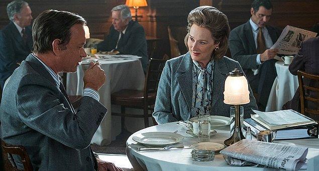21. Tom Hanks'le birlikte rol aldığı bu yılın iddialı yapımlarından The Post ise Streep'in yirmi birinci Oscar adaylığı oldu. Şimdi ise tek merak edilen Meryl Streep altı yıl aradan sonra dördüncü Oscar'ını kucaklayabilecek mi? 😎