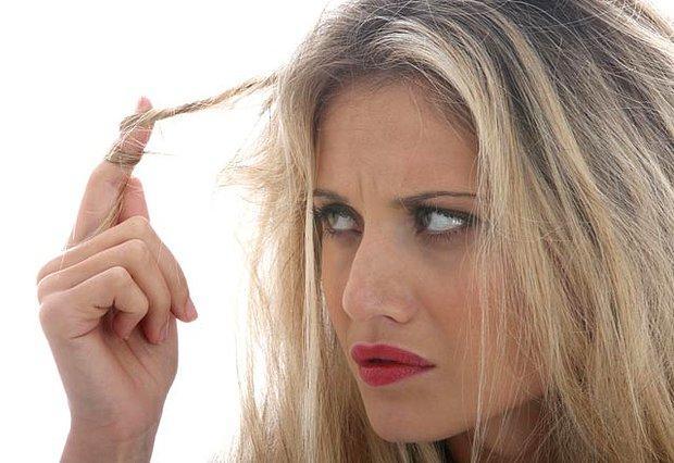 Saçlarım çok kuru hiç canlı durmuyor :(