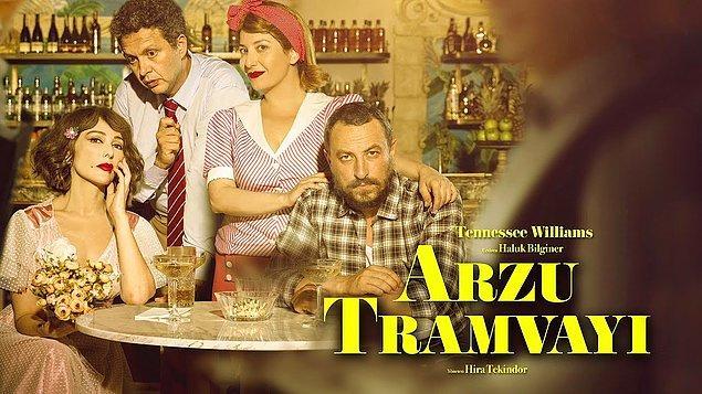 """2)  """"Arzu Tramvayı"""" yıllar sonra perdesini açıyor. Üstelik oyun; Zerrin Tekindor, Onur Saylak, Şebnem Bozoklu ve İbrahim Selim'i bir araya getirdi. 24 Şubat'ta Uniq Hall İstanbul'da."""