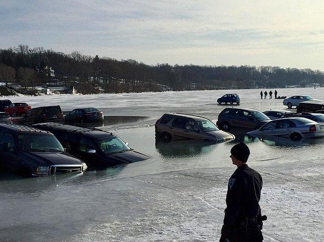 3. Buz mu arabadan çıktı, araba mı buzdan çıktı? N'oluyo lan?