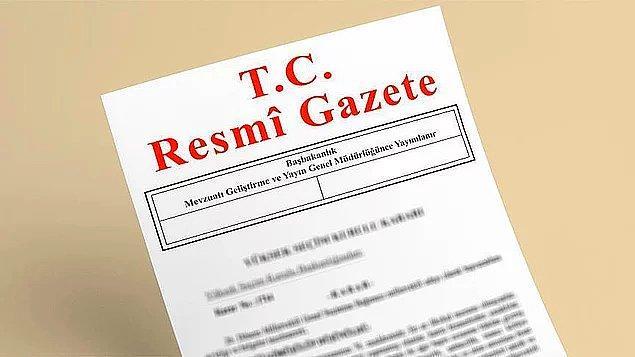 Satış ilanı Resmi Gazete'nin dün yayımlanan sayısında yer aldı.