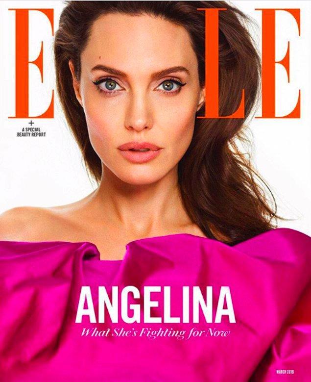 Aynı elbiseyi Vogue ve Elle'in kapaklarından da hatırlıyoruz.