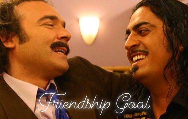 2. Friendship never ends...