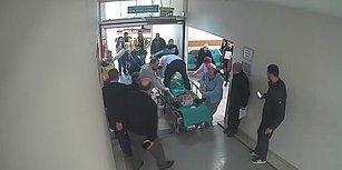 Kalbi Duran Hastayı Sedyenin Üzerinde Kalp Masajı Yaparak Hayatta Tutan Kahraman Doktor!