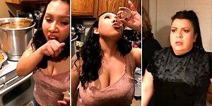Kızını İçki İçerken Gören Annenin Verdiği Efsane Tepki