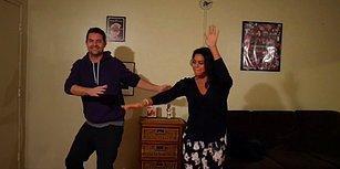 Mükemmel be Mükemmel! Komşularından Evine Gelerek Birlikte Dans Etmelerini İsteyen Adam