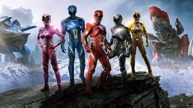 1. Power Rangers