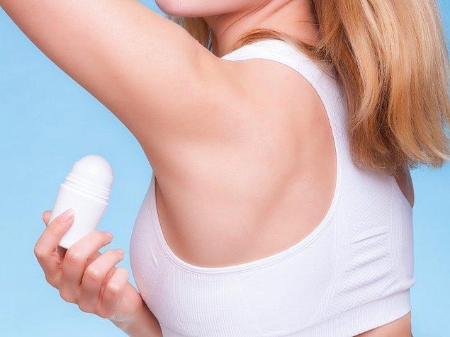Deodorant ve koltuk altı roll on'ları meme kanserine neden olabilir mi?