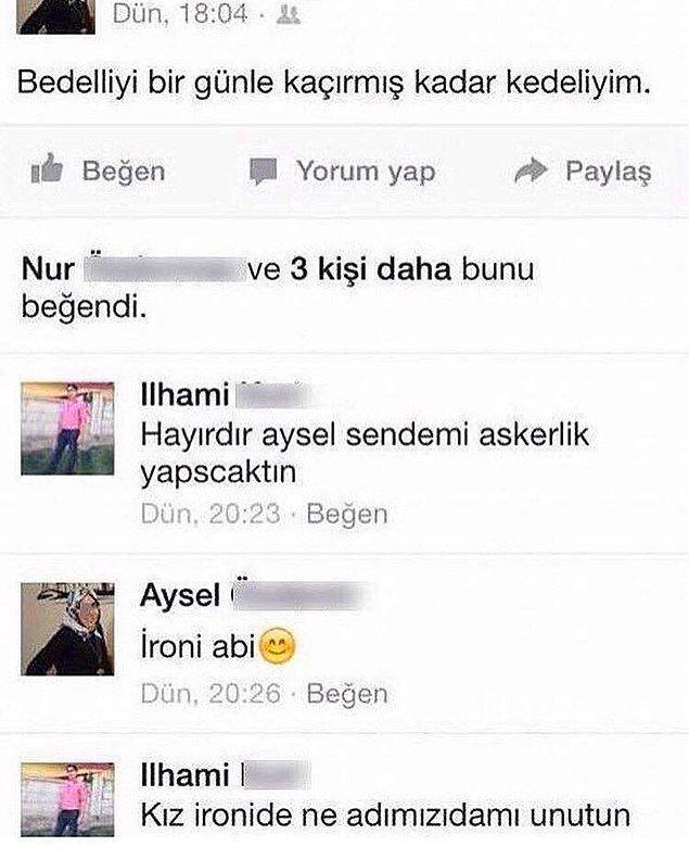 6. Ah İlhami Abi ah!