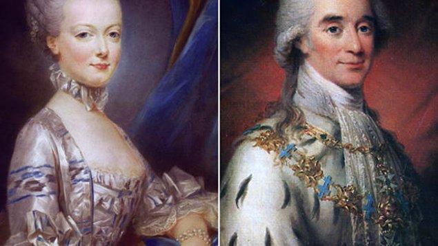 Kral XVI. Louis ve eşi Marie Antoinette yargılanıp 1793'te idam edildiler.