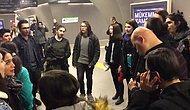 Metroda Kaval Çalan Görme Engelli Gence Eşlik Eden Boğaziçi Gençlik Korosu ve Ortaya Çıkan Muhteşem Görüntüler