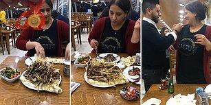 Çeyrek Altın İçin Yarım Saatte 151 Adet Çöp Şiş Yiyen Kadın