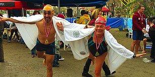 Kış Olimpiyatlarından Bile Daha Eğlenceliydi! Çılgın Yüzücüleri ve Şahane Yerlileriyle Datça Açık Deniz Kış Yüzme Maratonu!