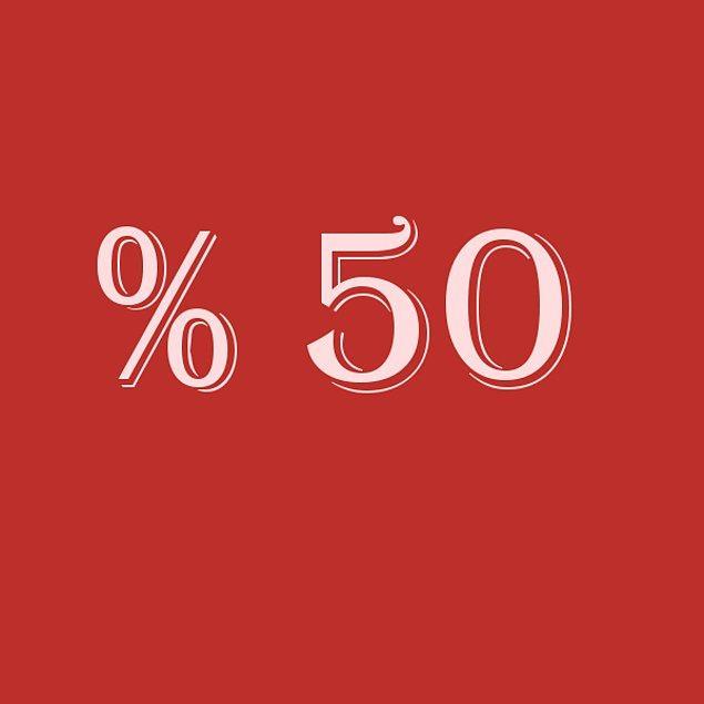 Verdiğin cevaplara göre sen % 50 bencilsin!
