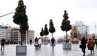 İstiklal Caddesi'nin Yeşil ile İmtihanı: Taksim'de 'Beton Saksıda Ağaç' Dönemi Başladı