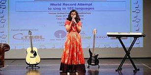 6 Saat Boyunca 102 Dilde Şarkı Söyleyen 12 Yaşındaki Genç Kız: Suchetha Satish