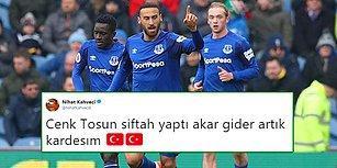 Tosun Paşa'nın İlk Gol Heyecanı! Everton'a Transfer Olan Cenk Tosun Premier Lig'de İlk Golünü Attı