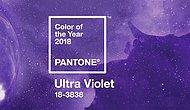 Pantone Yılın Rengi: Ultra Violet !