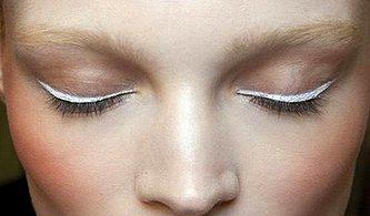 Beyaz Eyeliner Mı? Güzelliğin Yeni Trendi Bu Beyaz Eyelinerlar Nasıl Kullanılır Açıklıyoruz