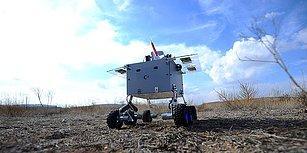🤖Selçuk Üniversitesi Öğrencileri Cep Telefonu Yazılımıyla Kontrol Edilebilen 'Hava Savunma Robotu' Tasarladı