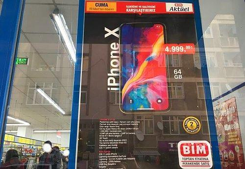 Bim 9 Mart Aktüel Ürünler Kataloğu Yayınlandı iPhone X 4999 TL 51