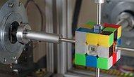 Işık Hızında Rubik Küpü Çözen Robot: 0.38 Saniye