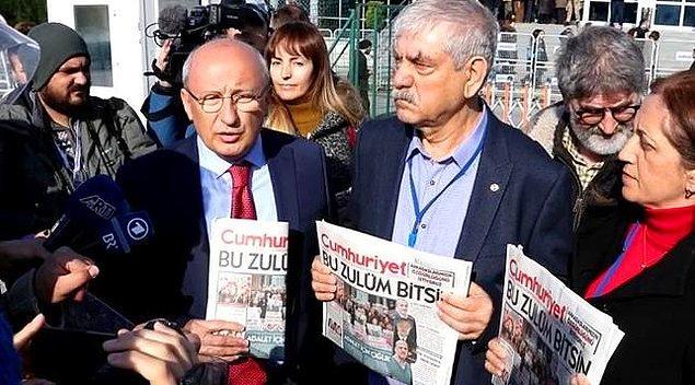 Dava öncesi basın açıklaması jandarma tarafından engellendi. İstanbul Valiliği'nin 'OHAL'de basın açıklaması' yasağı gerekçe gösterildi.