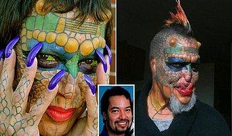 Bir Ejderhaya Benzeme Yolunda Kulaklarını ve Burnunu Kestiren 55 Yaşındaki Trans Kadın