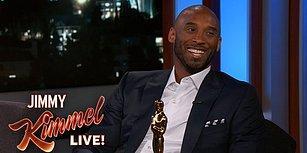 Jimmy Kimmel'a Katılan Kobe Bryant, 'En İyi Kısa Animasyon' Dalında Kazandığı Oscar'la İlgili Konuştu