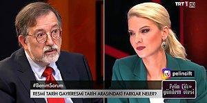 Pelin Çift, Murat Bardakçı'yı Konuk Ettiği Programında Üslubundan Dolayı Eleştirilerin Odağında
