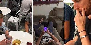 Telefon Bağımlısı Adamın Sürekli Olarak Arkadaşlarının Gazabına Uğradığı Muhteşem Anlar