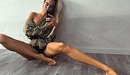 Herkes Dalga Geçti Ama O Yılmadı! 102 Santimetrelik Bacak Boyuyla Oha Dedirten İsveçli Model