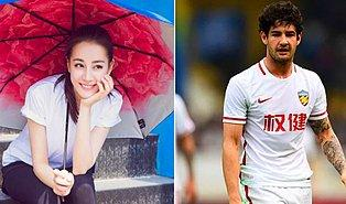 Brezilyalı Yıldız Futbolcu Pato Gönlünü Uygur Türkü Dilruba'ya Kaptırdı