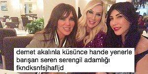 Ufak Tefek Cinayetler Gerçek Oldu! Seren Serengil Kanlı Bıçaklı Olduğu Hande Yener'le Barıştı, Ortalık Karıştı!
