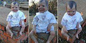 Bir Defa Görenin Kabuslarına Musallat Olabilecek Görünümde Vampir Oyuncak Bebek