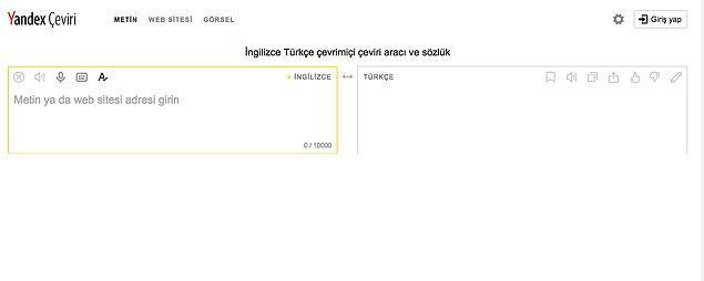Yandex Çeviri