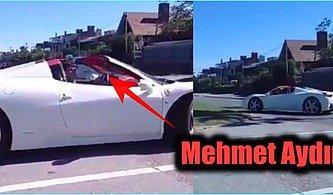 Tosun'dan Temiz Ferrari! Mehmet Aydın'ın Uruguay'da Trafikteki Görüntüleri Ortaya Çıktı!