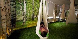 """Polonya'da İlk Kez Bir """"Kısa Uyku"""" Cafe'si Açıldı! Vinci Power Nap Sleep Cafe"""
