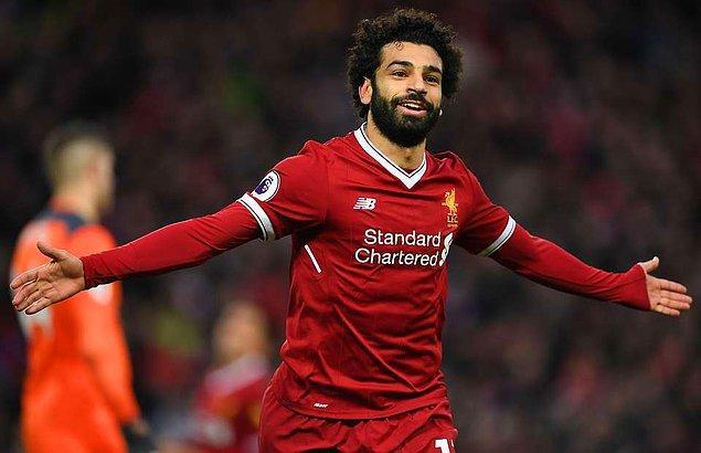 1. Mohamed Salah - [Liverpool]