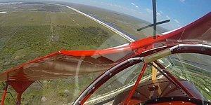 700 Metrede Motoru Duran Uçağın Çakılmaktan Son Anda Kurtulduğu Anlar