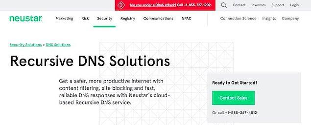 DNS Advantage (UltraDns) Ayarları