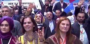 Erdoğan Konuşurken Bozkurt İşareti Yapan Kadının Efsane Geri Vitesi